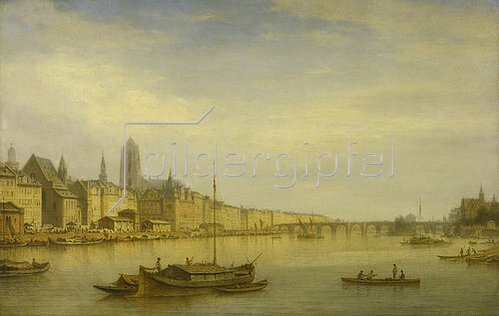 Carl Morgenstern: Frankfurt am Main, Ansicht von Westen aus. 1873