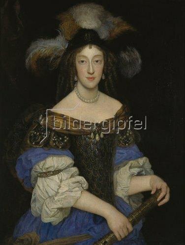 Jean Delamonce: Portrait der Henriette Adelaide.