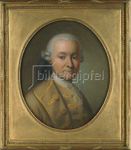 Unbekannter Künstler: Georg Michael Anton Frank Maria von La Roche (1720-1788). Nach 1774.