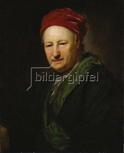 Anton Graff: Adam Friedrich Oeser. 1776