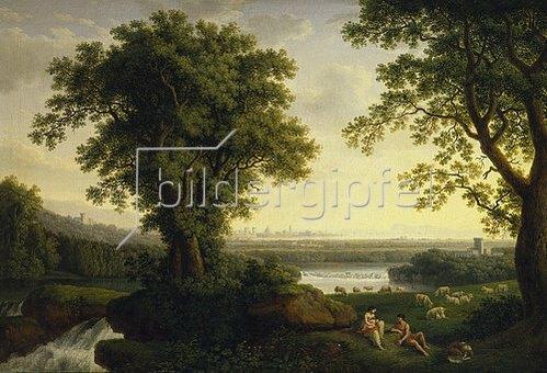 Jacob Philipp Hackert: Italienische Landschaft. 1806