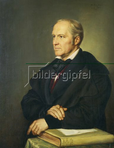 Rudolf Julius Benno Hübner: Carl Gustav Carus, 1789-1869