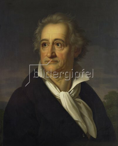 Heinrich Christoph Kolbe: Johann Wolfgang von Goethe. 1826