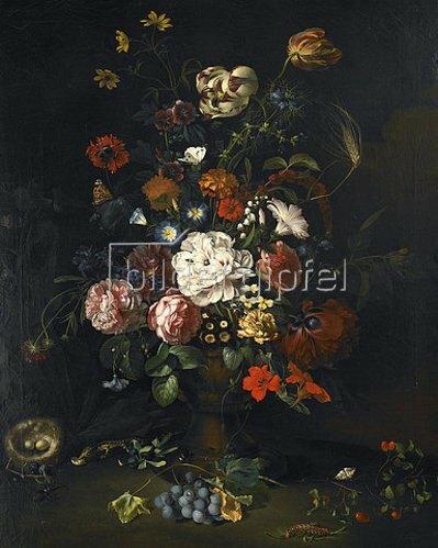 Justus Juncker: Blumenstück. 1765