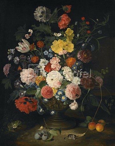 Justus Juncker: Blumenstück. 1766