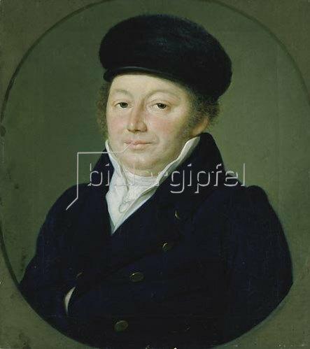 Franz Krüger: Gerson Hollmann, Bildnis