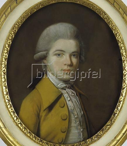 Johann Heinrich Schmidt: Alexander von Humboldt (Jugendbildnis). 1784