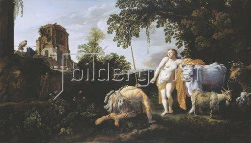 Moyses van Uyttenbroeck: Juno, Argus und Io. 1625.