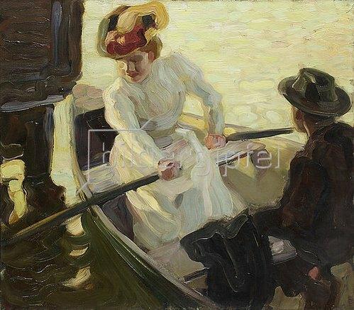 Leo Putz: Die Bootsfahrt