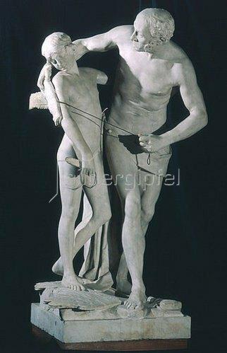 Antonio Canova: Dädalus und Ikarus. 1790