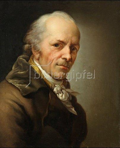 Wilhelm Otto: Anton Graff, Selbstbildnis. 1809.