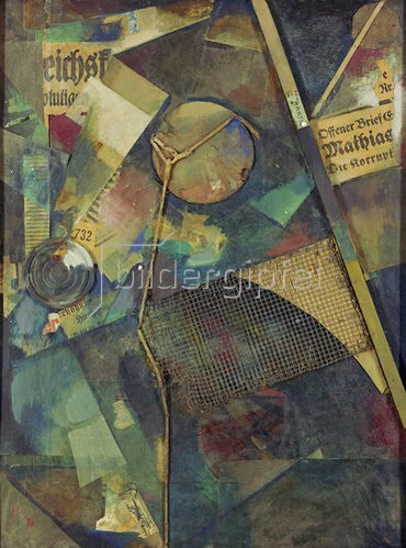 Kurt Schwitters: Merzbild 25 A. Das Sternenbild. 1920.