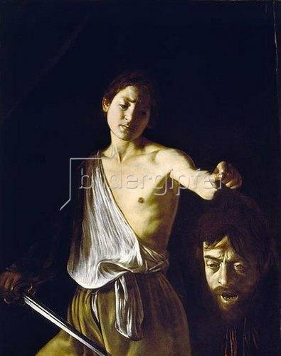 Caravaggio: David mit dem Haupt des Goliath.