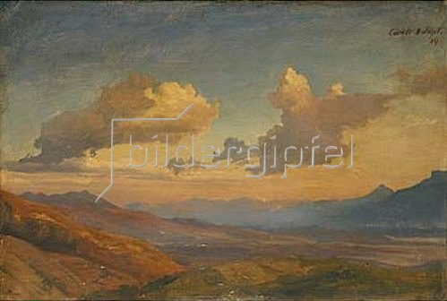 Johann Wilhelm Schirmer: Landschaft in den Sabiner Bergen.