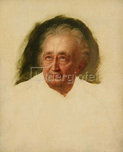 Carl August Schwerdgeburth: Johann Wolfgang von Goethe. Um 1832