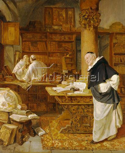 Eduard Grützner: Klosterbibliothek