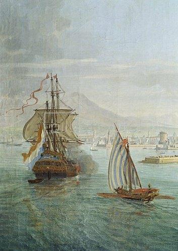 Gaspar Adriaens van Wittel: Seestück (Ausschnitt).