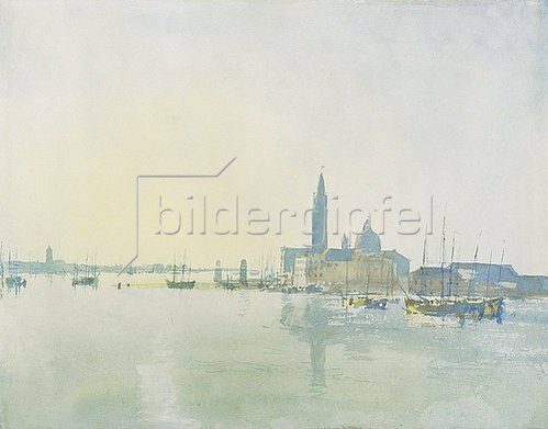 Joseph Mallord William Turner: Morgenstimmung in Venedig.