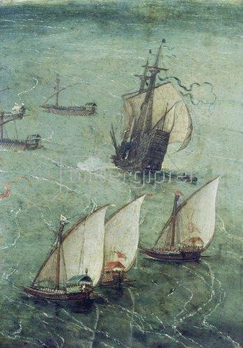 Jan Brueghel d.Ä.: Schlacht vor den Toren Neapels.