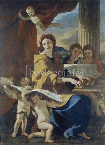 Nicolas Poussin: Die Heilige Cäcilia