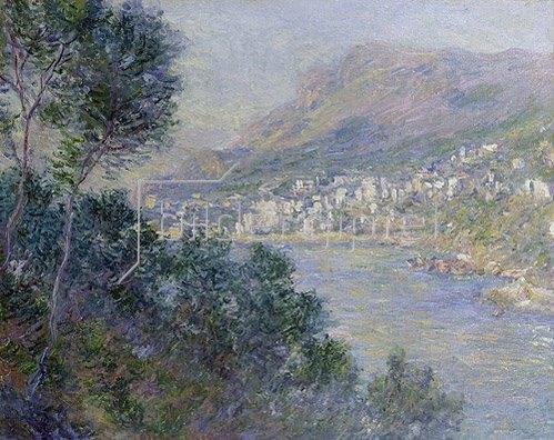Claude Monet: Monte Carlo, Vue du Cap Martin