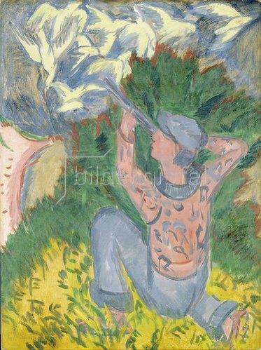 Ernst Ludwig Kirchner: Möwenjäger