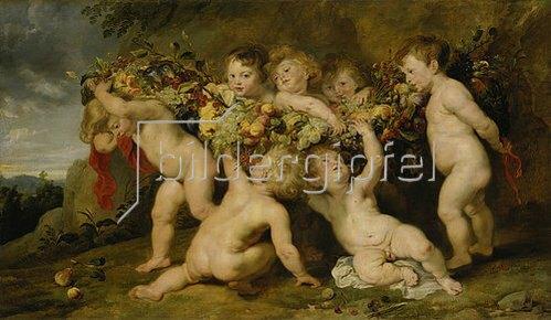 Peter Paul Rubens: Der Früchtekranz. (Zusammen mit Frans Snyders).