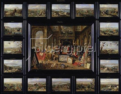 Jan van Kessel: Aus dem Zyklus 'Die vier Erdteile': Europa