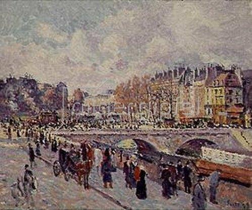 Maximilien Luce: Seinequai. 1899.