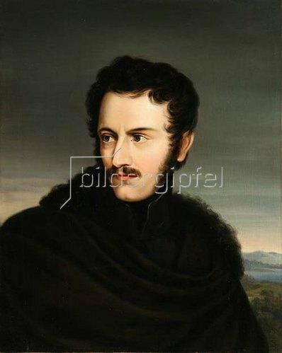 Carl Rahl: Nikolaus Lenau. 1833/34