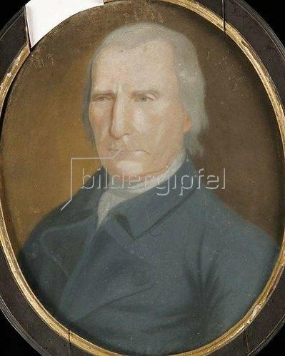 Unbekannter Künstler: Porträt eines Herr Thom (Person nicht spezifiziert). Wohl frühes 19. Jh.