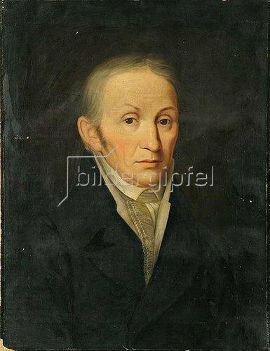 Unbekannter Künstler: Porträt des Herrn Cronrath. Wohl um 1824/30