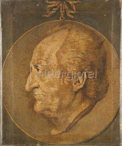 Unbekannter Künstler: Johann Wolfgang von Goethe. 1825
