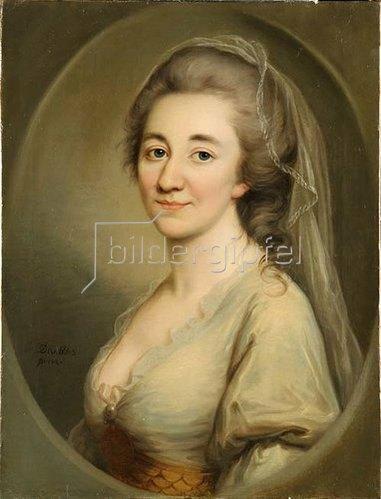 Joseph Friedr. August Darbés: Charlotte Elisabeth Konstantia von der Recke, geb. Reichsgräfin von Medem. 1783
