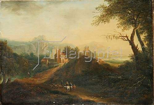 Johann Christian Brand: Landschaft