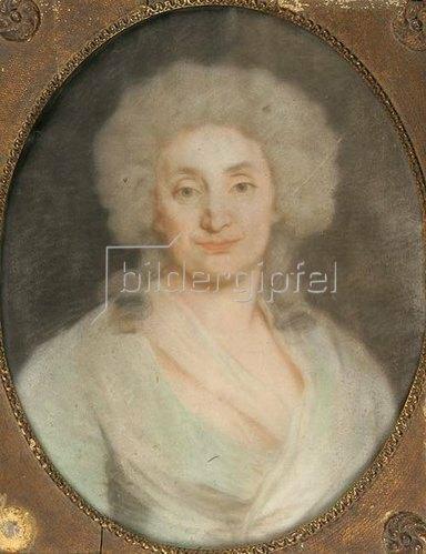 Unbekannter Künstler: Porträt einer unbekannten Dame.