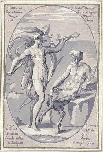 Antonio Maria Zanetti: Der Wettstreit zwischen Apoll und Marsyas