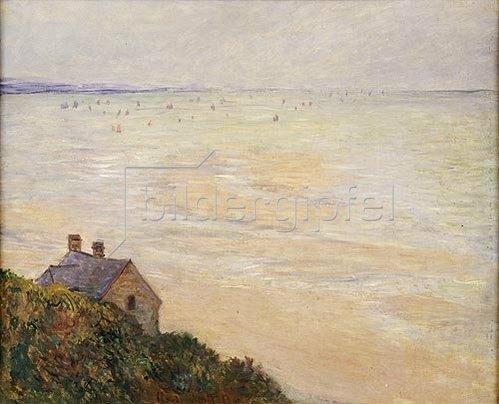Claude Monet: Die Hütte in Trouville bei Ebbe. 1881