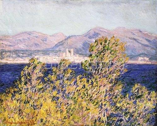 Claude Monet: Die Bucht von Antibes während des Mistral. 1888