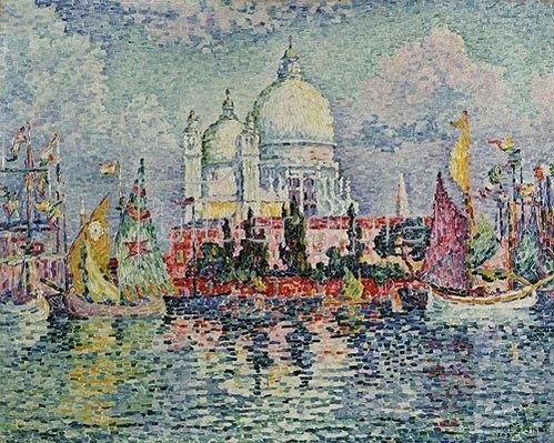 Paul Signac: Santa Maria della Salute. 1908