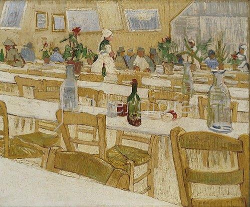 Vincent van Gogh: In einem Restaurant. 1887-88