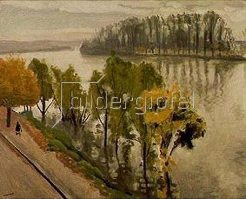 Albert Marquet: La Seine a la Frette en automne.