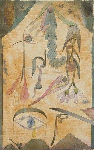 Paul Klee: Trauerblumen. 1917.