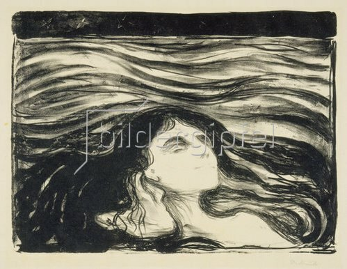 Edvard Munch: Meer der Liebe / On the Waves of Love. 1896.