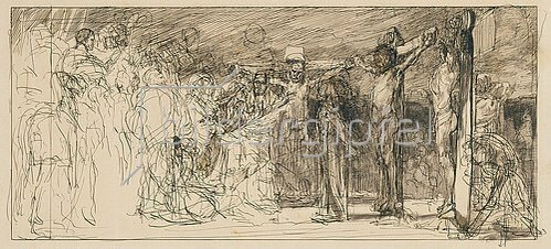 Max Klinger: Kreuzigung Christi. 1883