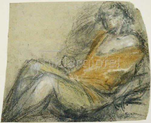 Jacopo Bassano: Figurenstudie.