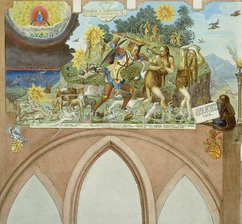 Johann Balthasar Bauer: Vertreibung aus dem Paradies.