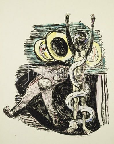 Max Beckmann: Magic Mirror from Day and Dream. 1946