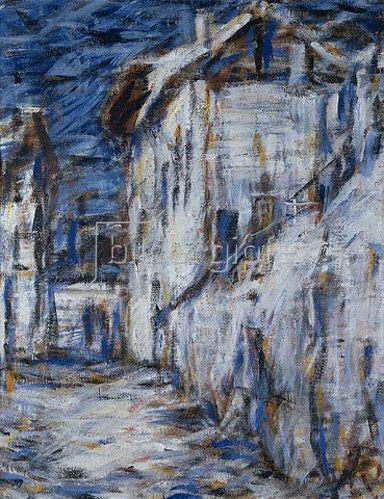 Christian Rohlfs: Gasse in Ascona. Um 1930.
