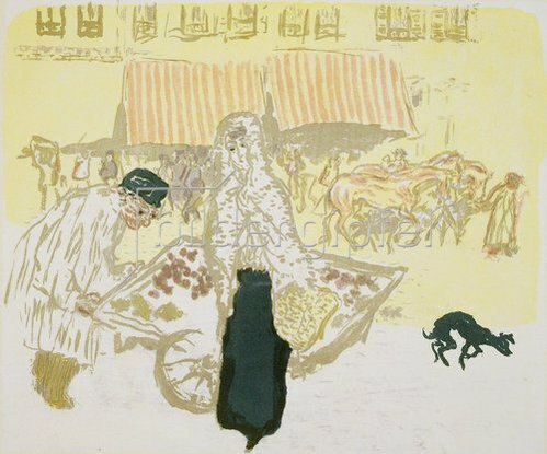 Pierre Bonnard: Marchand Quatre Saisons.